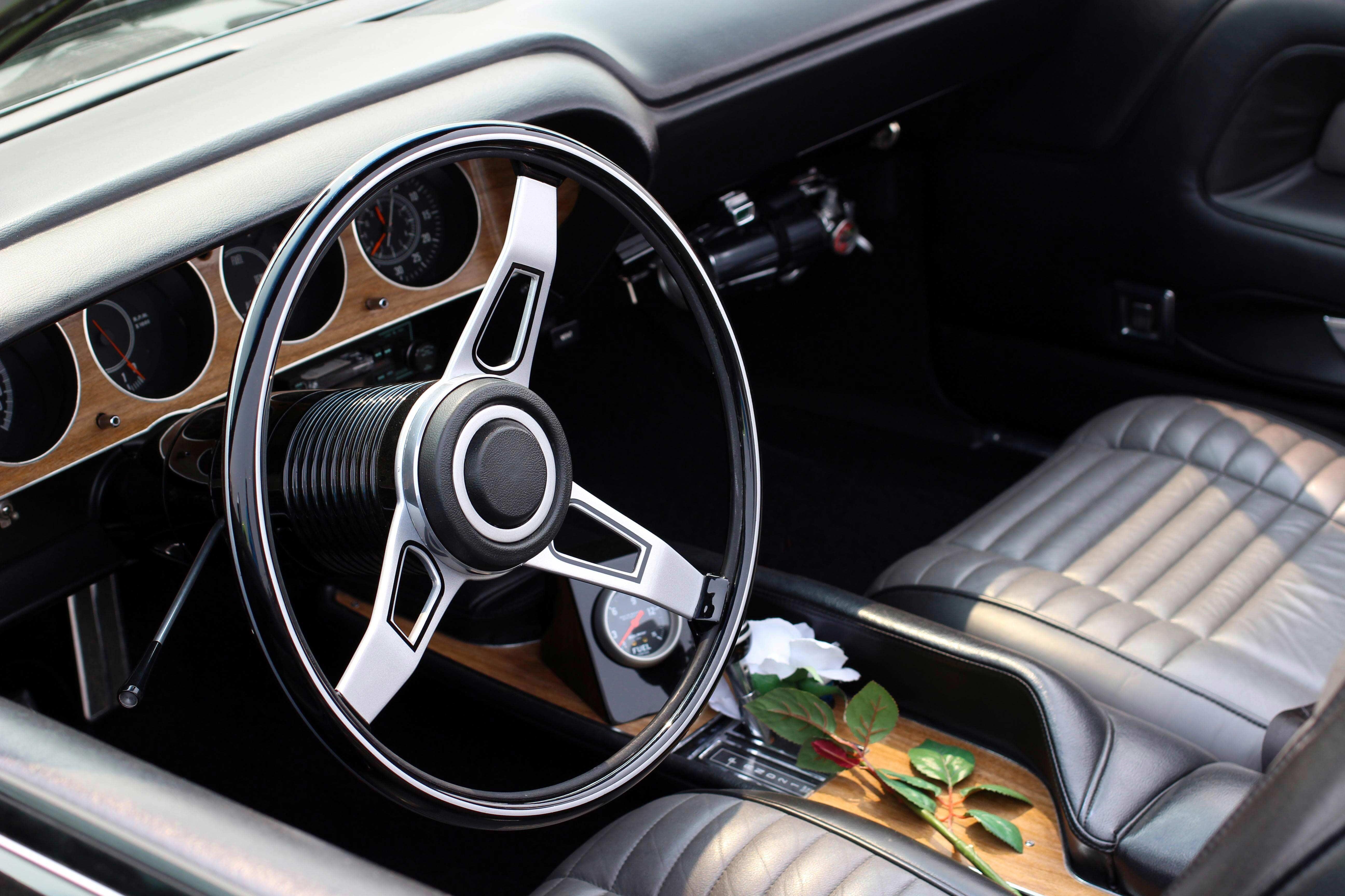 Classic Car Steering Wheel