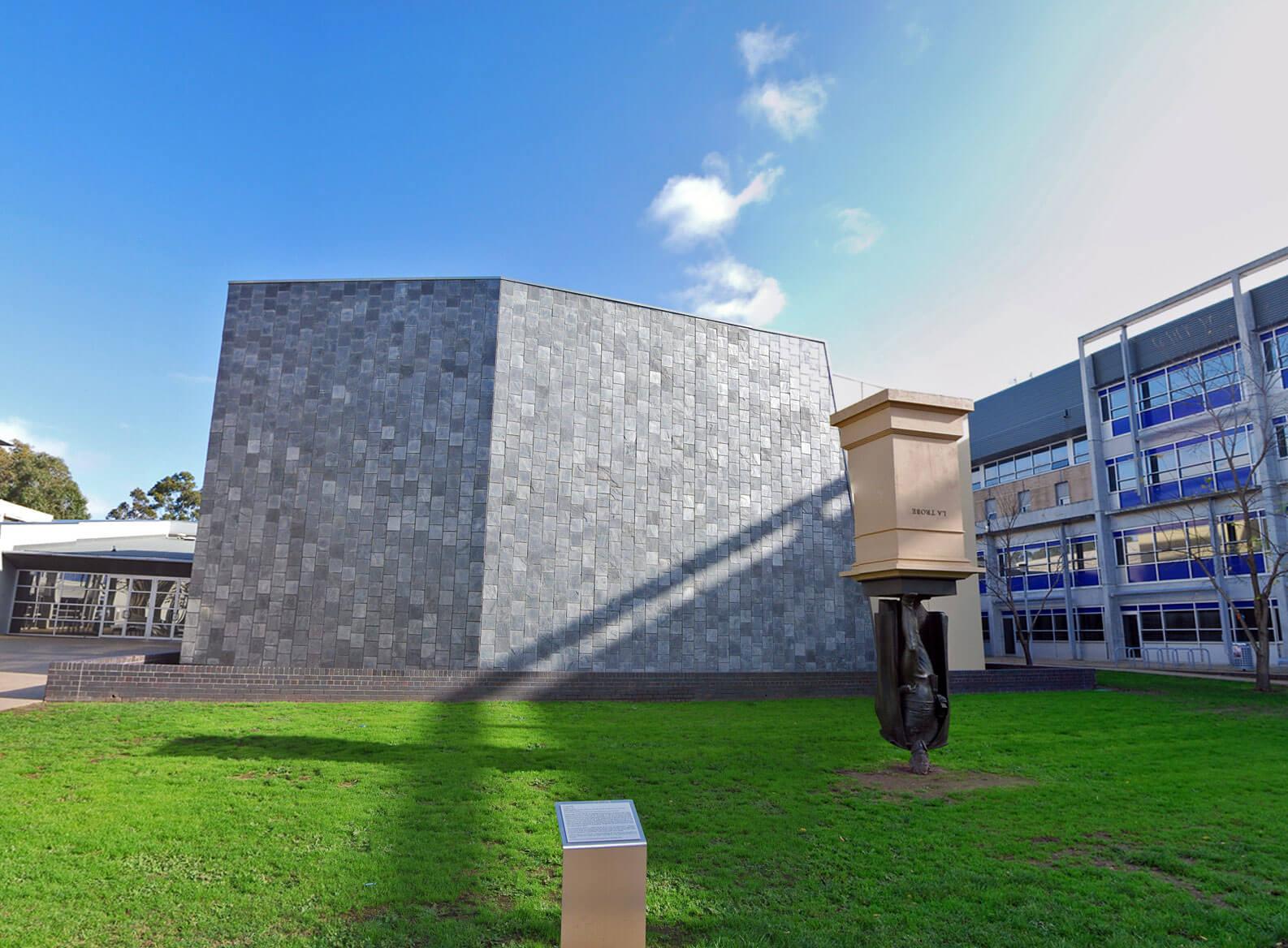 Upside-down Monument of Charles La Trobe (Australia)